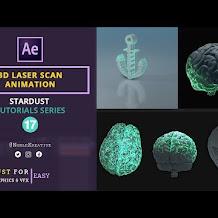 Cara Membuat Efek 3D Laser Scan Menggunakan Stardust Di After Effects