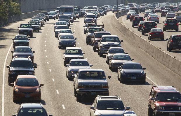 Traffic problems? Better buckle that seat belt