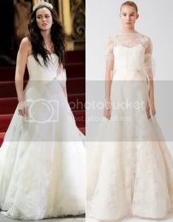 Gossip Girl Blair Waldorf Vera Wang Wedding Dress