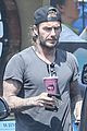 david beckham shows off tattooed arms after sweat sesh 01
