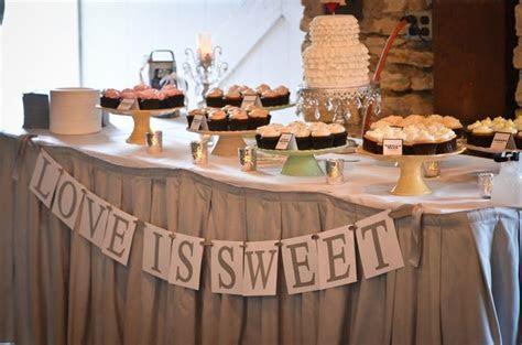 Love is Sweet Wedding Cupcake Table   @Sarah Bowen   cute