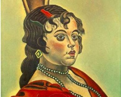 Resultado de imagen de Mirador, Joan Miró, mujer, 1919