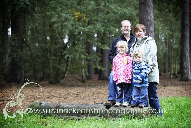 Family Portrait - Woburn woods