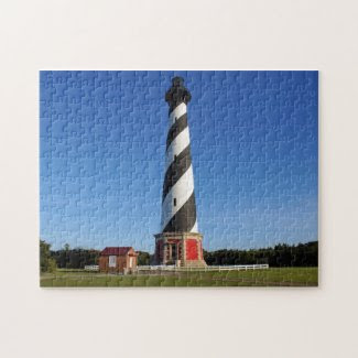 Cape Hatteras Lighthouse Jigsaw Puzzles