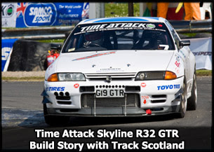 Time Attack Track Scotland R32 Nissan Skyline GTR Build Story