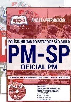 Apostila Polícia Militar-SP - Curso de Formação de Oficiais - PMSP