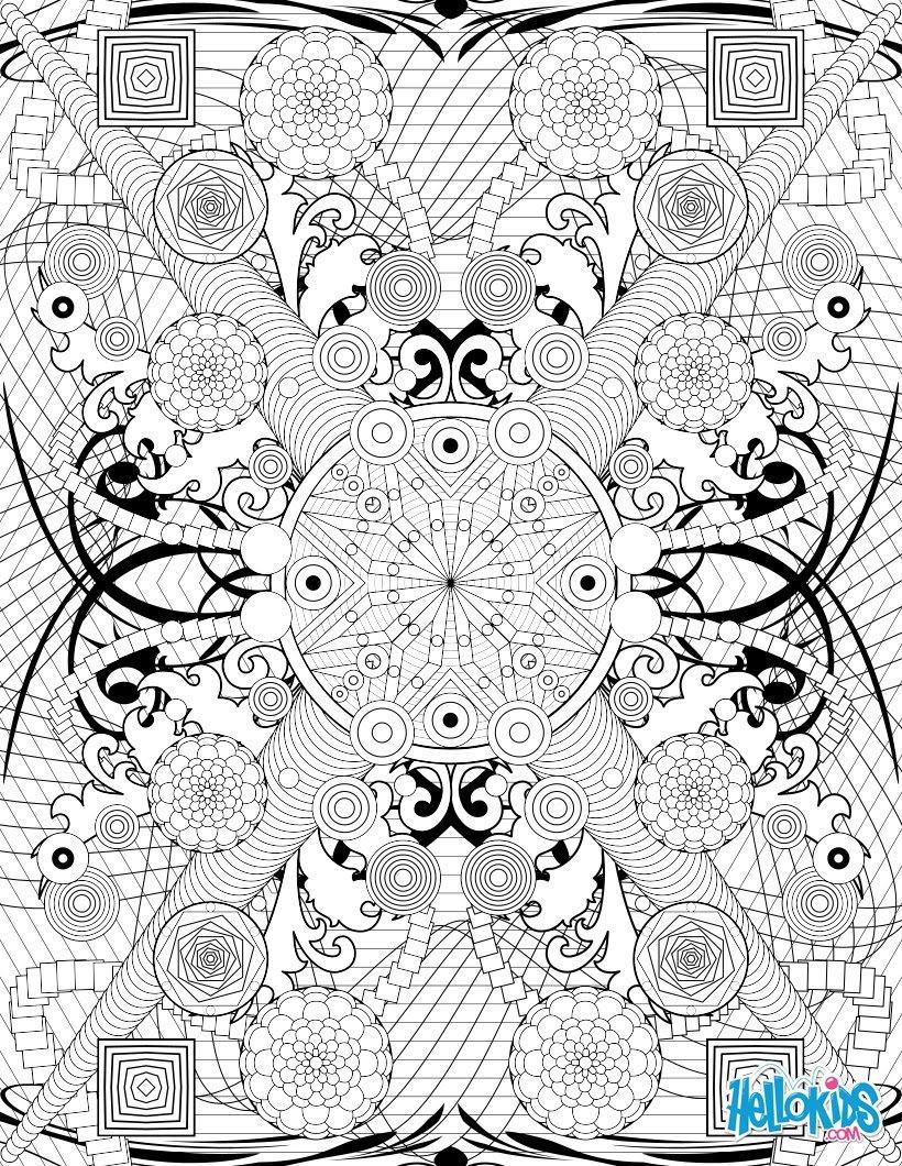 Rosaces et motifs tribaux