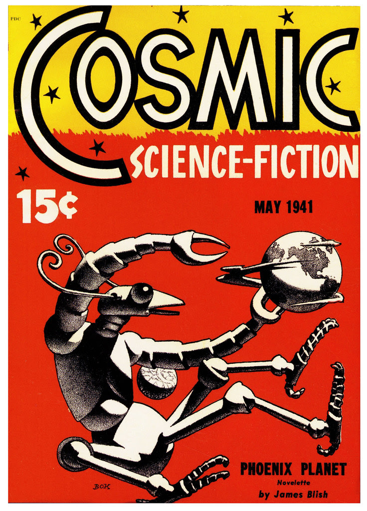 Hannes Bok - Cosmic Science Fiction