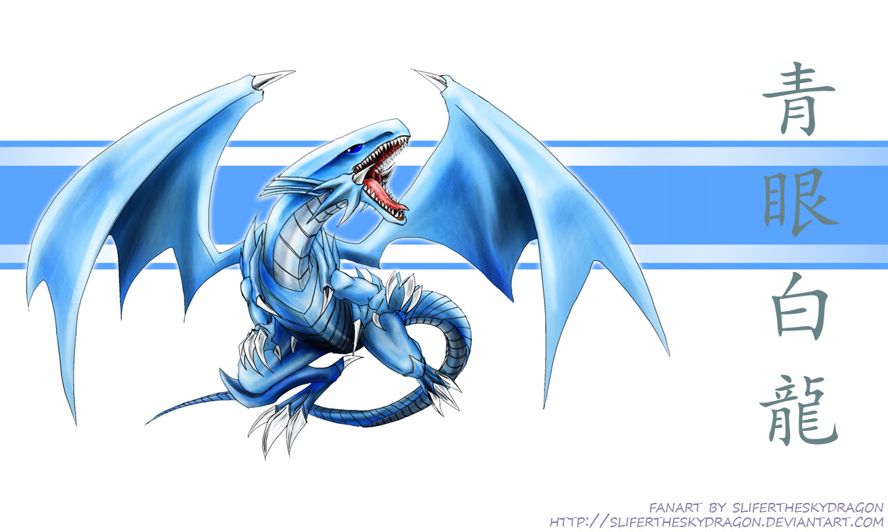 Blue Eyes White Dragon Wallpaper Free Hd Wallpapers