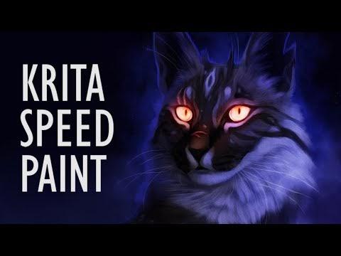 Nightbreeze | Krita Speedpaint - Mothmori