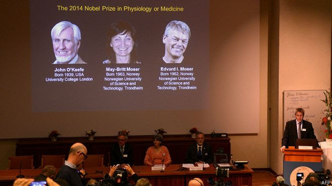 Ganadores del Nobel de Medicina 2014