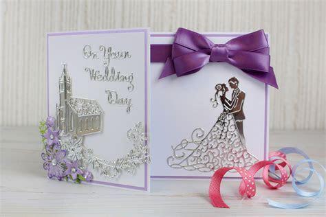 How to Make a Die Cut Wedding Card   Hobbycraft Blog