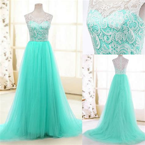 women long formal evening gown bridesmaid prom dress