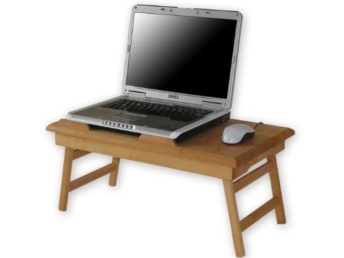 Table pour ordinateur portable table de lit pliable pour for Table de petit dejeuner au lit