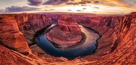 horseshoe bend hd nature  wallpapers images