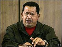 Hugo Chávez el 19 de junio
