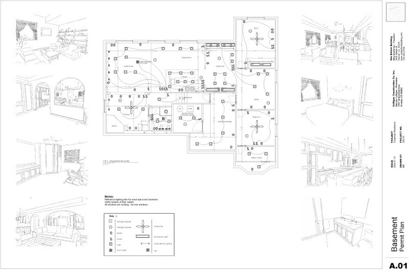google sketchup floor plan symbols