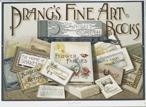 Prang's Fine Art Books. [Poste... Digital ID: 487288. New York Public Library