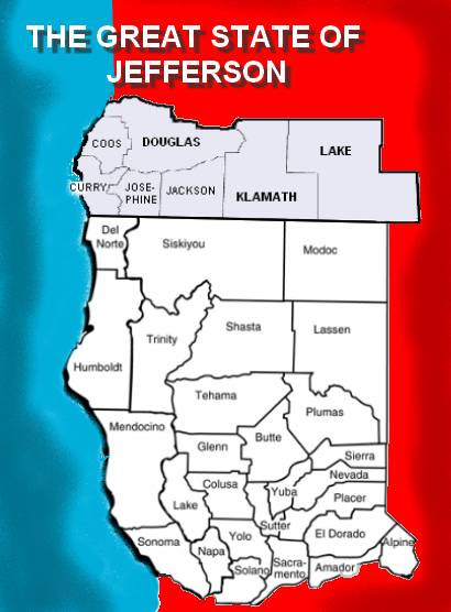 Image result for The state of jefferson