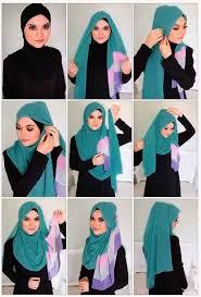 Tutorial Hijab Simple Untuk Sehari-hari - Cara Mudah Berhijab