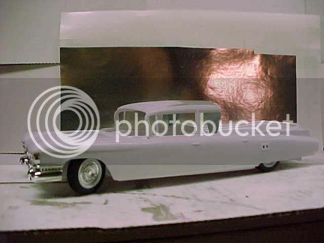 1959 Cadillac Superior Royale Flower Car | The Mad Modeller