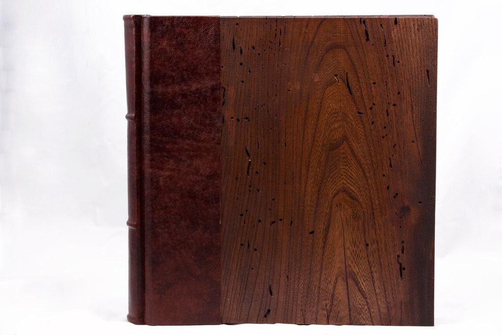Handmade Wood Cover Photo Album Scrapbook 12x12 Epica