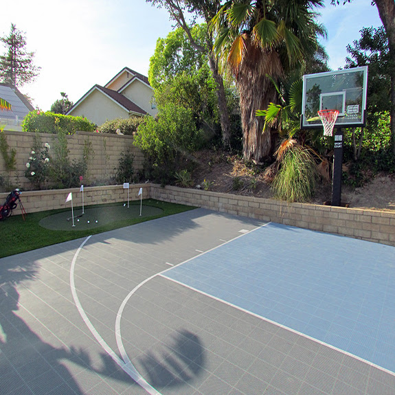 Products Gym Floors Basketball Court Flooring Backyard Putting