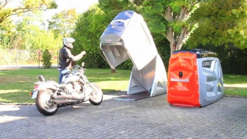 A Versatile, Semi-Portable Bike Garage – BikeBOX24 XL ...