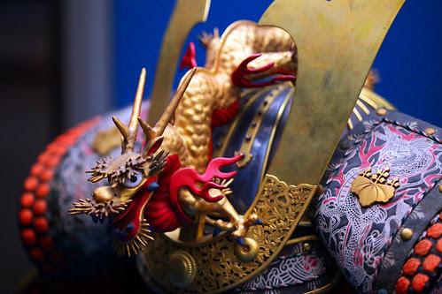 Japanese Midevil Dragon Armor by jhandelman