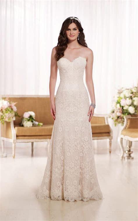 Wedding Dresses   Modified A Line Wedding Dress   Essense