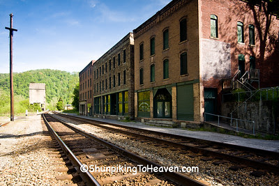 Commercial District, Historic Thurmond, Fayette County, West Virginia