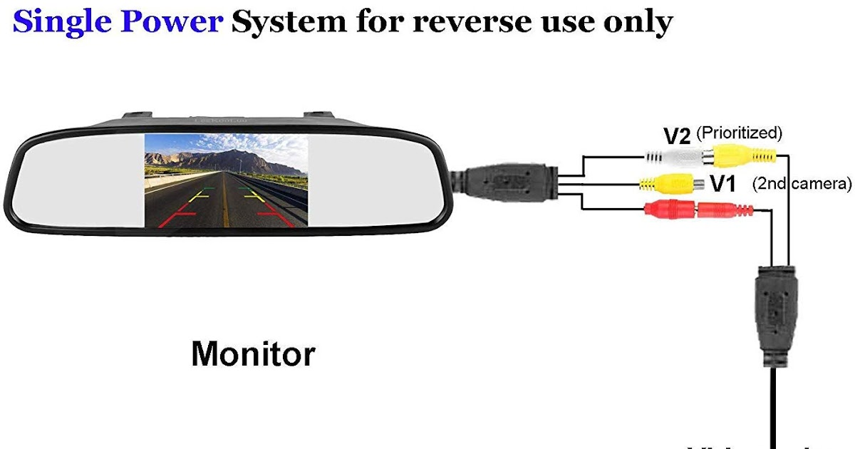 Rearview Mirror Wiring Diagram Tv