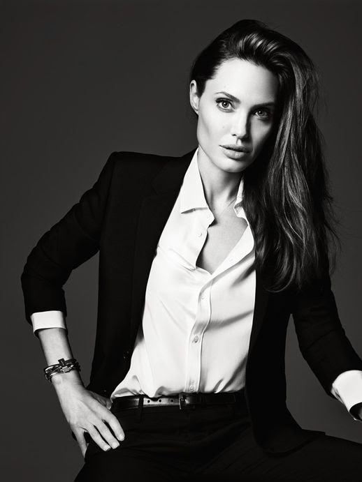 Le Fashion Blog Angelina Jolie Elle Magazine June 2014 By Hedi Slimane Button Down photo Le-Fashion-Blog-Angelina-Jolie-Elle-Magazine-June-2014-By-Hedi-Slimane-Button-Down.jpg