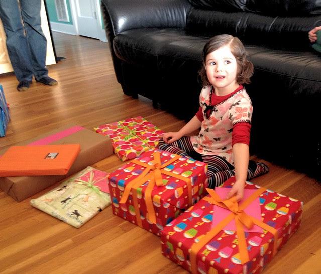 Violet is 4!