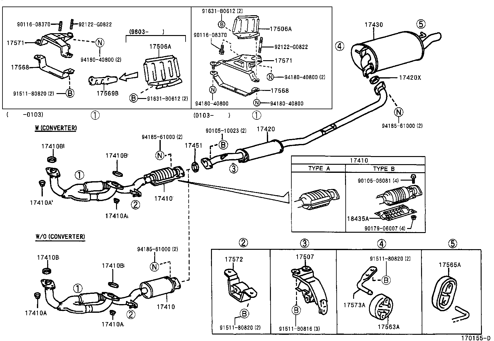 2006 toyota camry exhaust system diagram great installation of