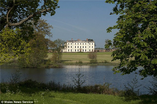 Picturesque: The Mynde Park estate has a royal price tag of £15million