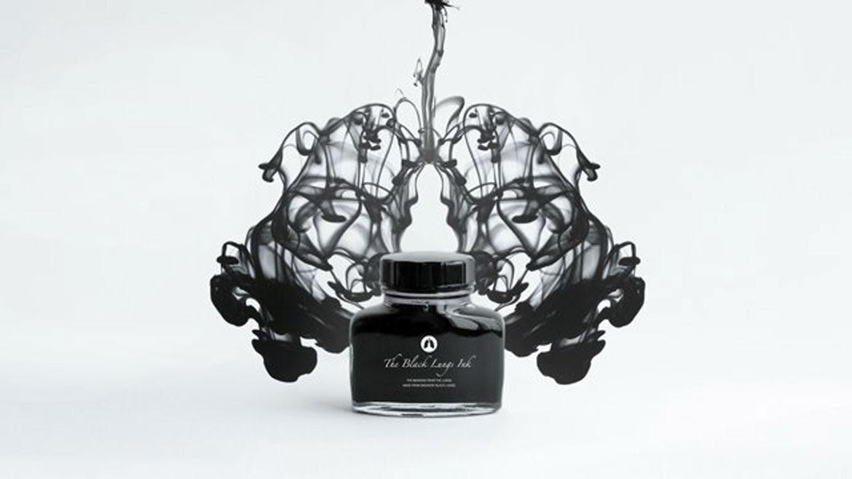 Tinta negra, el mensaje de los pulmones