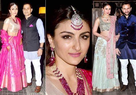 Kareena Kapoor along with bride Soha looks mesmerizing at