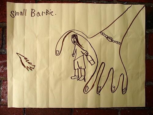 Ava Thursday: Small BarBie.