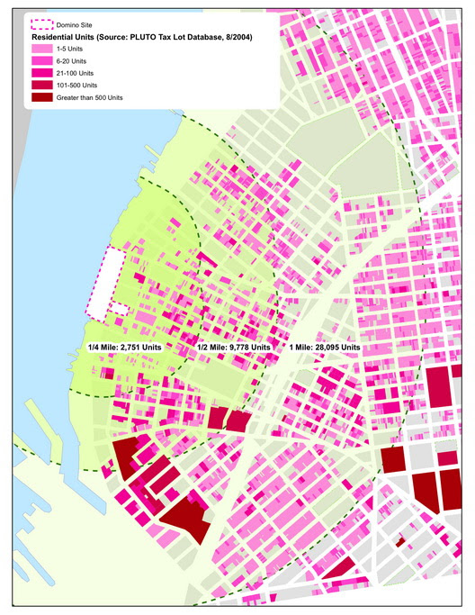 Williamsburg Housing Map
