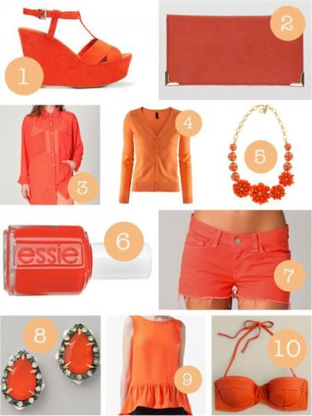 how to wear tangerine tango this #spring