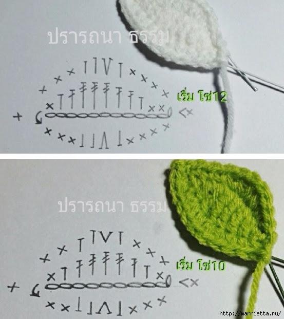 Цветы крючком. Белая кувшинкаЦветы крючком. Белая кувшинка (2) (553x621, 178Kb)