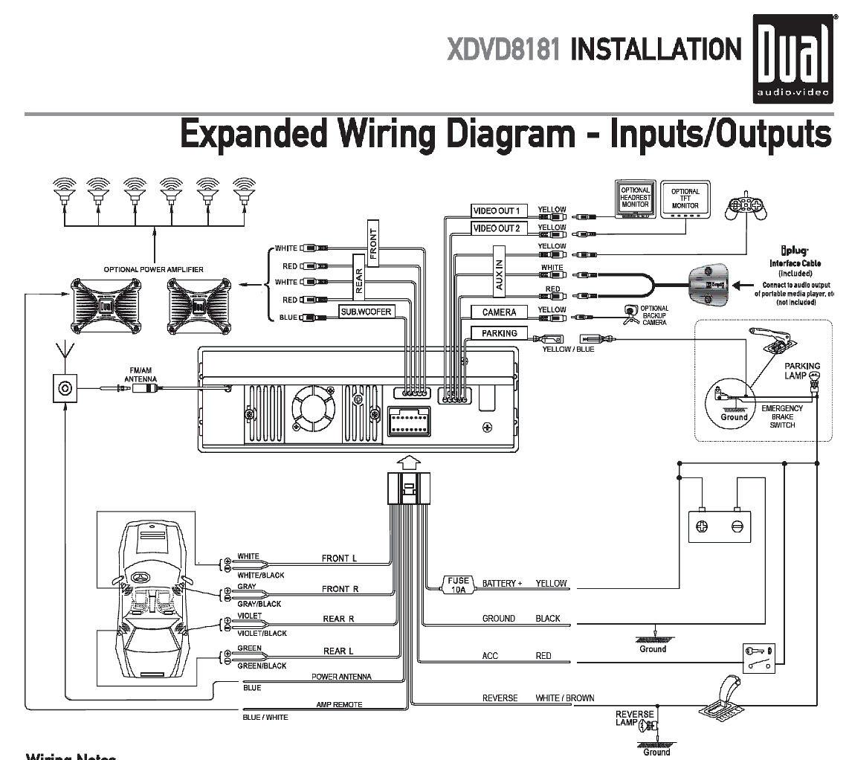 Pioneer Dvd Head Unit Wiring Diagram - Wiring Diagram
