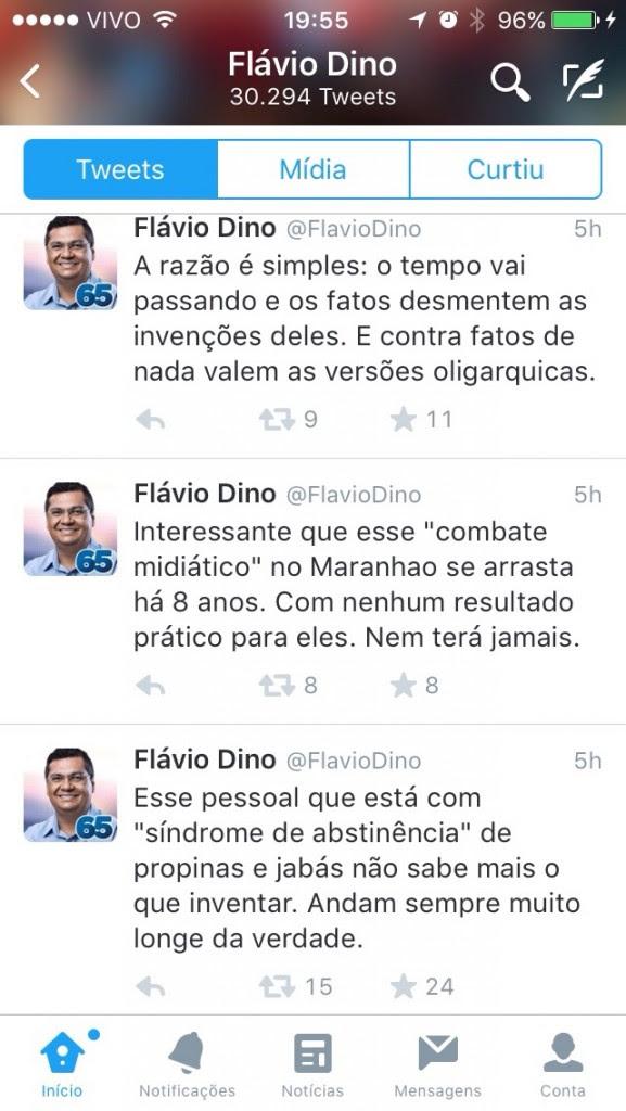 TIRANDO AS MÁSCARAS DE FLÁVIO DINO E DE SEU CAMARADA MARCIO JERRY.