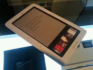 Barnes & Noble nook (ebook reader device)