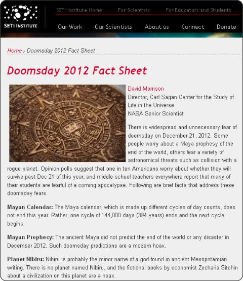 http://www.seti.org/doomsday-2012-factsheet