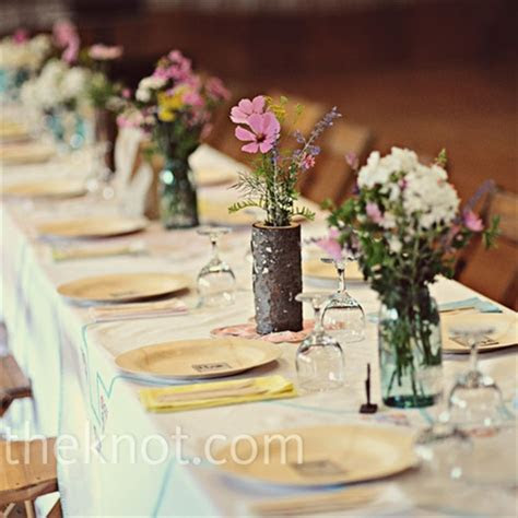 Colorful Wildflowers Centerpieces ? Top Cheap Easy Party