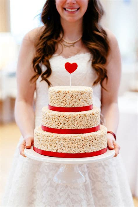 2016 Wedding Cake Alternative: The Wedding Rice Krispie