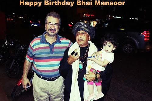 Happy Birthday Bhai Mansoor ,,,Ap Se Ke Kareeb Aur Hamse Door by firoze shakir photographerno1