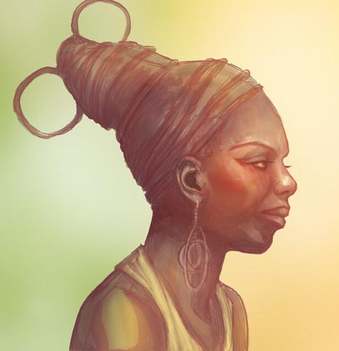 Nina Simone In Progress